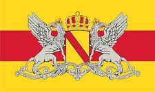 12 x 8cm PREMIUM Aufkleber Fahne Flagge Grossherzogtum Baden Wappen Auto Sticker