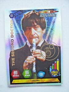 Doctor Who Alien Armies Second Doctor E2 Card (NEW)