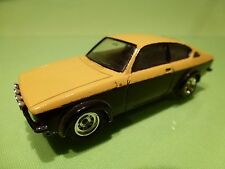 VEREM 70 OPEL KADETT  COUPE GTE - YELLOW BLACK 1:43 - GOOD CONDITION