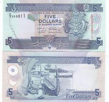 SOLOMON ISLANDS.2004/2011,,,5 DOLLARS.P-26.UNCIRCULATED.(R)