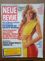 Neue Revue Illustrierte 1981/48  vom 21 November 1981, Jutta Speidel