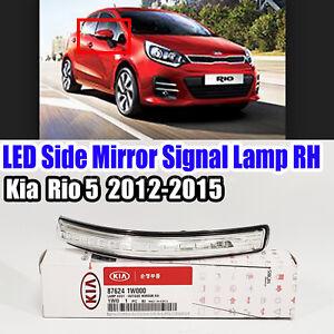 876241W000 LED Side Mirror Signal Lamp Right RH For  Kia Rio 5 2012-2015