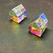 Aurora Cabin Light Cube Prism K9 Optical Crystal Glass Creative Home Decor Gift