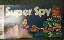 Super Spy board game electronic alarms Milton Bradley 1971 toys kids 4135