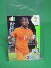 Panini #102 Didier Drogba Star Player Fifa World Cup Brasil 2014 Adrenalyn XL