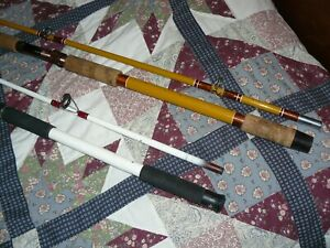 Pair of Surfcast Fishing Rods Shakespeare & Unmarked