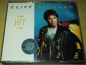 Cliff Richard - The Hit List (1998 Double CD Album)