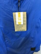 Corrine Dennis Ladies Colorado Mini Top In Blue Size 16