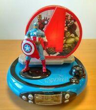 Lexibook Radio Réveil Veilleuse Marvel Avengers Captain America  // Vendeur Pro
