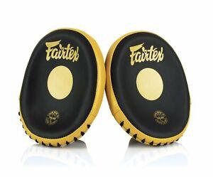 Fairtex Speed & Accuracy Focus Mitts - FMV15 - Black/Gold