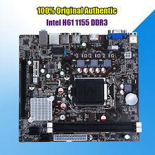 New for Intel H61 Socket LGA 1155 DDR3 Motherboard PCIE 3.0 mATX Support Core i7