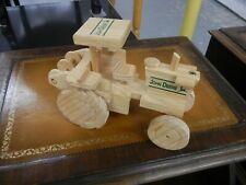 Wooden Handmade Toy Tractor John Deere  FREE SHIPPING