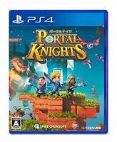 USED PS4 PlayStation 4 portal Knights 14662 JAPAN IMPORT