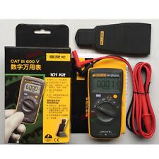 NEW FLUKE 101 kit  Handheld Digital Multimeter F101 Pocket Mini  600V CATIII