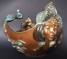 Bronze Icarus Bowl By Alexsander Danel Signed 1992 Limited Edition