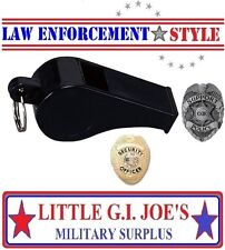 Police Whistle Security Whistle Survival Whistle Rape Whistle Rothco 8407