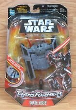 Hasbro Star Wars Transformers Darth Vader & Tie Fighter Action Figure