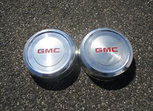 Genuine GMC 1500 1/2 ton pickup van 15 inch dog dish hubcaps