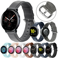 Genuine Leather Belt Wrist Strap Band For Samsung Galaxy Watch Active 2 Gear S3