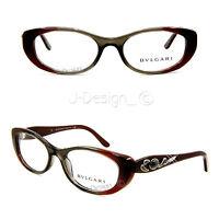 BVLGARI 4057-B 5210 Stones 52/17/135 Eyeglasses Rx Eyewear Made in Italy New