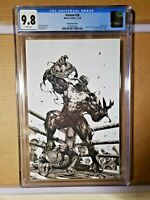 Venom #28     CGC 9.8 Kael Ngu Sketch Cover Virgin Variant Frankies Golden Apple