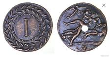 Roman Spintria Brothel Entry Token I Bronze