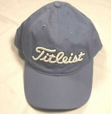 Titleist Golf Lehr 100% Cotton Not Faded Blue Adjustable Strapback Dad Hat  Cap 24568281b8e7