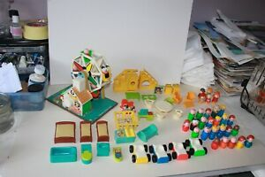 Fisher Price Little People collection.