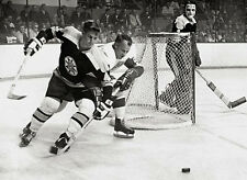 Bobby Orr Boston Bruins Gordie Howe Detroit Red Wings NHL Hockey Legends Photo