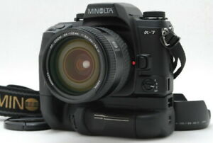 """Exc+5"" Minolta Maxxum 7 Dynax 7 alpha 7 a-7 Body w/ AF 24-105mm Lens VC-7 D871"