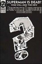 JUSTICE  LEAGUE  AMERICA   { DC - Feb 1993 }  Superman  is Dead ...   ## 71