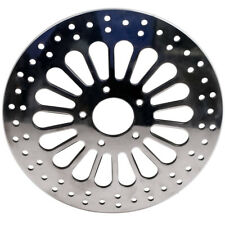 11.8 300 mm Polished Front Brake Rotor Disc Stainless Steel For Harley Touring
