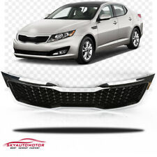 Fits 2011-2013 Kia Optima Front Upper Grille Grill Chrome (Only LX/EX)