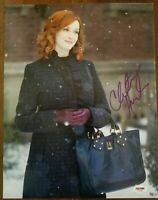 Christina Hendricks Signed Good Girls Autographed 11x14 Photo PSA/DNA