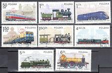Poland 1978 - Locomotives - Mi 2543-50 - used