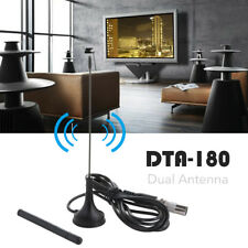Portable Freeview HD TV Aerial DTA180 Powerful Mini Antenna With Magnetic Base