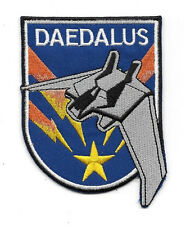 Stargate Atlantis TV Series Daedalus Ship Captain Embroidered Patch, NEW UNUSED