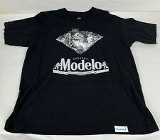 Diamond Supply Company x Modelo Cerveza Black T-Shirt Men's Size XL