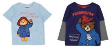 PADDINGTON BEAR UNISEX BLUE T SHIRT/TOP OR LONG SLEEVE NAVY T SHIRT/TOP - New