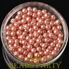 New 300pcs 6mm Round Czech Glass Pearl Loose Spacer Beads Aqua Red