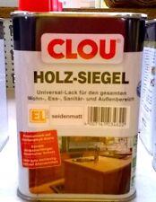 Holzsiegel CLOU Universal Klarlack seidenmatt 250 Ml