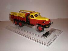 1/43 115102 DIP MODELS ZIS-151 Service truck  yellow/red