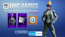 Fortnite - Neo Versa + 2000 V-Bucks PS4 | REGION: Europa