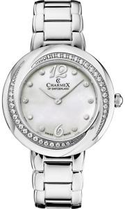 Ladies Charmex of Switzerland 6375 Deauville White MOP Dial Quartz Watch