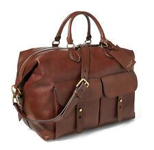 Ralph Lauren Purple Label Collection Sahara Leather Duffle Bag New $2500