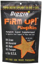 Diggin' Your Dog Firm Up Pumpkin Super Supplement for Digestive Tract Dogs, 4 oz