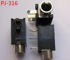 4Pcs 3.5mm Female Audio Connector 3 Pin DIP Headphone Jack Socket PJ-316