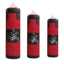 Empty Sandbag For MMA Boxing Kick Muay Thai Fitness Punching Bag Training Sport