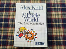 Alex Kidd in Miracle World - Authentic - Sega Master - Case / Box Only!