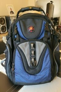 """SWISS GEAR 16"""" LAPTOP BACKPACK BY WENGER - SHOCK ABSORBING - VGC - USED ONCE"""